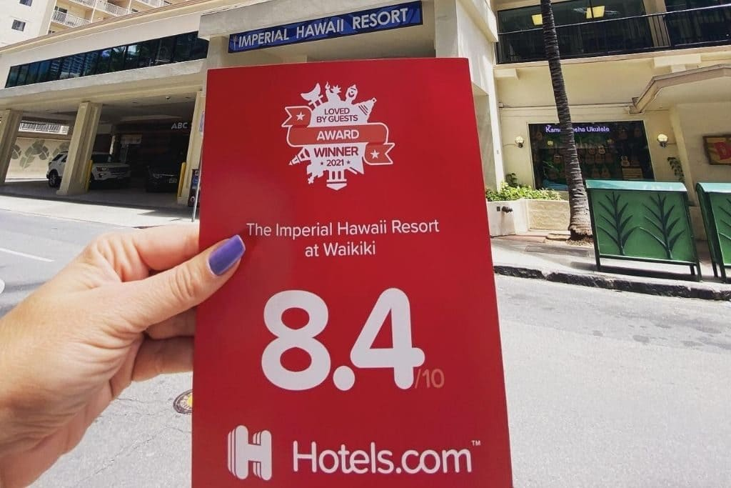 2021 Hotels.com Award